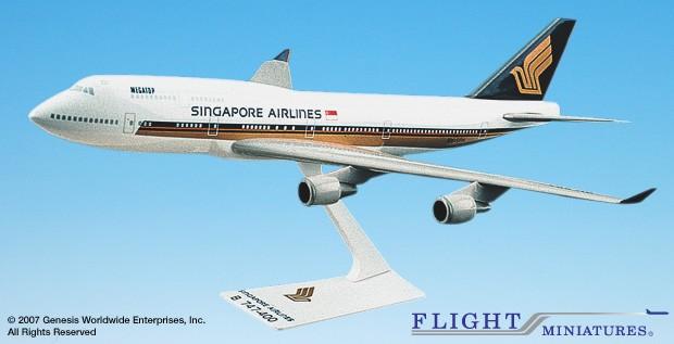 Singapore Airlines 747-400