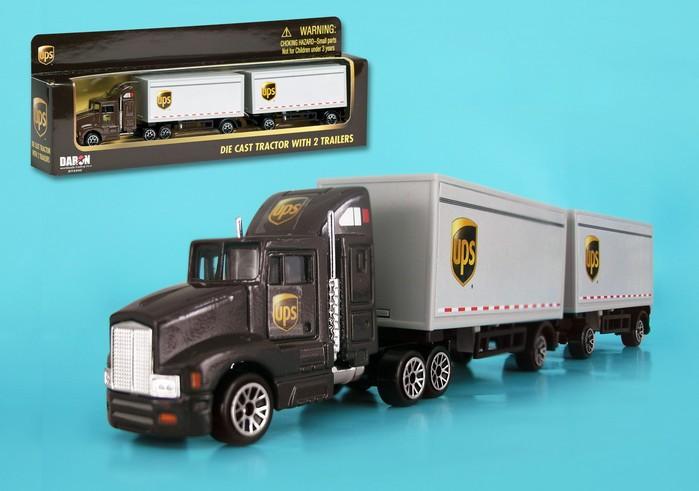 UPS Tandem Tractor Trailer