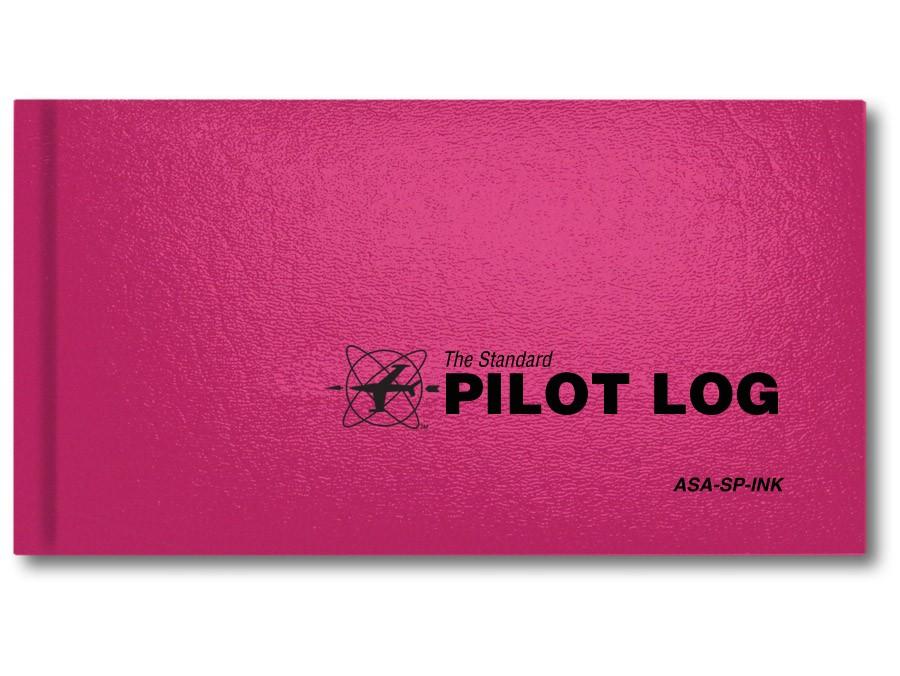Standard Pilot Log - Pink