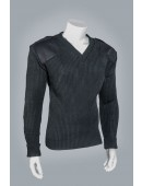 Commando Sweater with Epaulets
